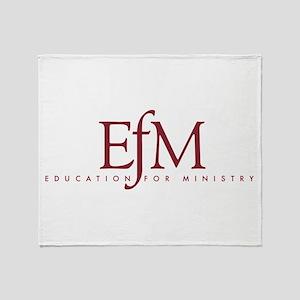 Efm Logo Throw Blanket