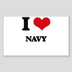 I Love Navy Sticker