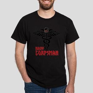 Navy Corpsman Dark Saving Bones T-Shirt