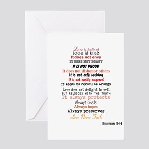 1 Corinthians 13 Greeting Cards