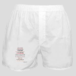 1 Corinthians 13 Boxer Shorts