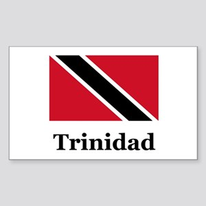 Trinidadian Rectangle Sticker