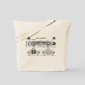 Space: 1999 - Eagle Transporter Tote Bag