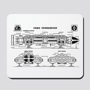 Space: 1999 - Eagle Transporter Mousepad