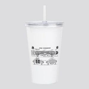 Space: 1999 - Eagle Tr Acrylic Double-wall Tumbler