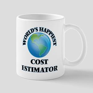 World's Happiest Cost Estimator Mugs
