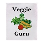 Veggie Guru Throw Blanket