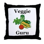 Veggie Guru Throw Pillow