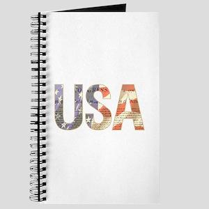 USA Independence Flag Journal