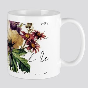 Dragonfly and flowers Mugs
