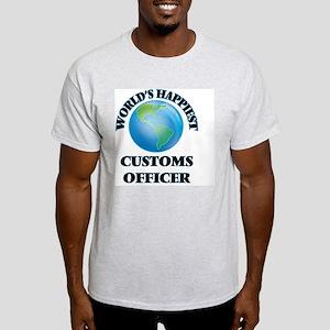 World's Happiest Customs Officer T-Shirt