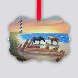 New Day Cape Hatteras Picture Ornament