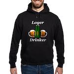 Lager Drinker Hoodie (dark)