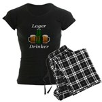 Lager Drinker Women's Dark Pajamas