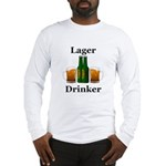 Lager Drinker Long Sleeve T-Shirt