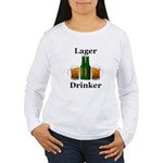 Lager Drinker Women's Long Sleeve T-Shirt