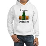 Lager Drinker Hooded Sweatshirt
