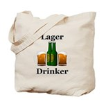 Lager Drinker Tote Bag
