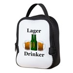 Lager Drinker Neoprene Lunch Bag