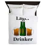 Lager Drinker Queen Duvet