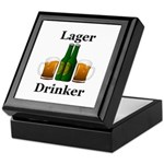 Lager Drinker Keepsake Box