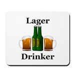 Lager Drinker Mousepad