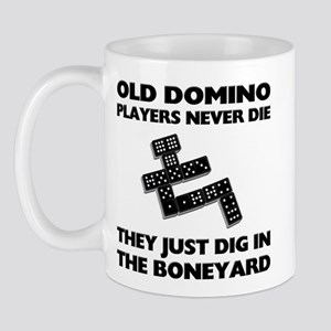 Domino Players Never Die Mug