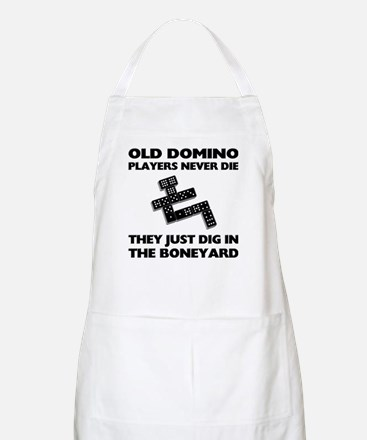 Domino Players Never Die BBQ Apron