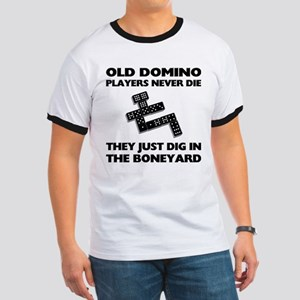 Domino Players Never Die Ringer T