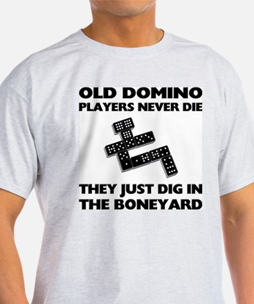 Domino Players Never Die T-Shirt