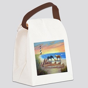 New Day Cape Hatteras Canvas Lunch Bag