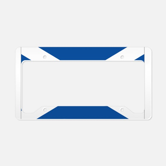 Scotland Flag License Plate Holder