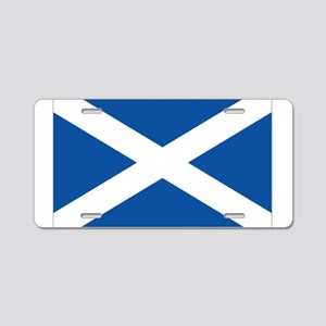 Scotland Flag Aluminum License Plate