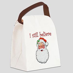 I Still Believe In Santa Claus Canvas Lunch Bag