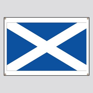 Scotland Flag Banner