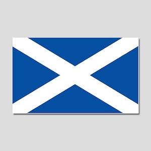 Scotland Flag Car Magnet 20 x 12