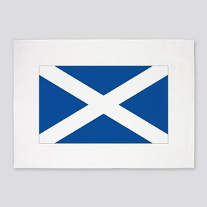 Scotland Flag 5'x7'Area Rug