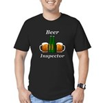 Beer Inspector Men's Fitted T-Shirt (dark)