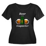Beer Ins Women's Plus Size Scoop Neck Dark T-Shirt
