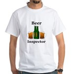 Beer Inspector White T-Shirt