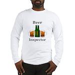 Beer Inspector Long Sleeve T-Shirt