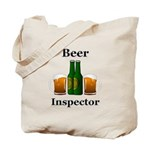 Beer Inspector Tote Bag