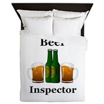 Beer Inspector Queen Duvet