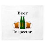 Beer Inspector King Duvet
