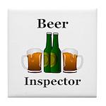 Beer Inspector Tile Coaster