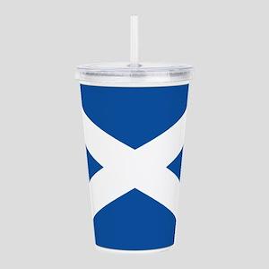 Scotland Flag Acrylic Double-wall Tumbler