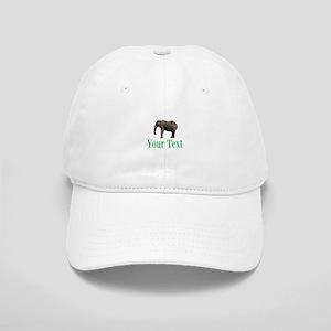 Personalizable Elephant Baseball Cap