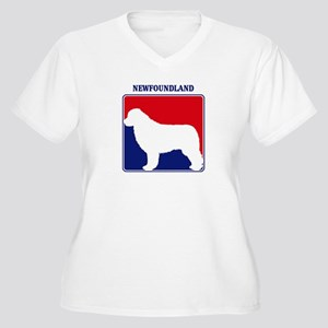 Pro Newfoundland Women's Plus Size V-Neck T-Shirt