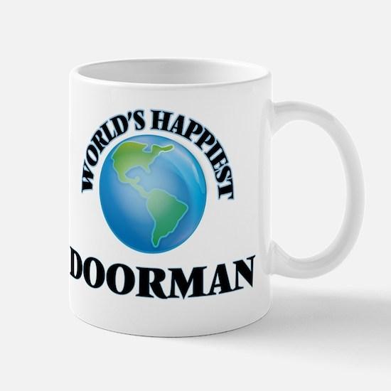 World's Happiest Doorman Mug