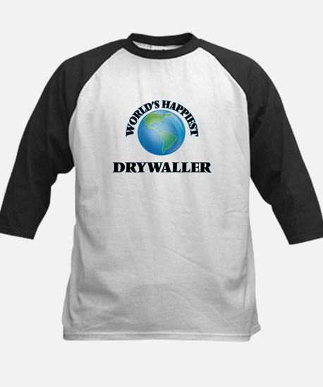 World's Happiest Drywaller Baseball Jersey